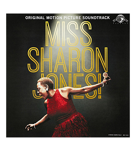 RYE WAX Sharon Jones And The Dap Kings Miss Sharon Jones Original Motion Picture Sound vinyl (Multi