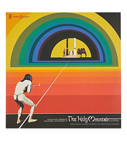 RYE WAX Alejandro Jodorowsky The Holy Mountain soundtrack vinyl (Multi