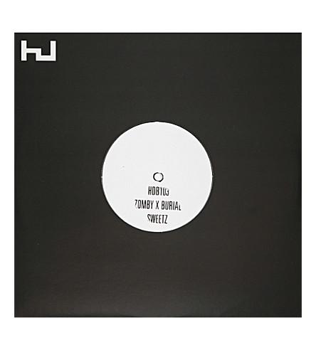 RYE WAX Zomby x Burial Sweetz vinyl (Multi