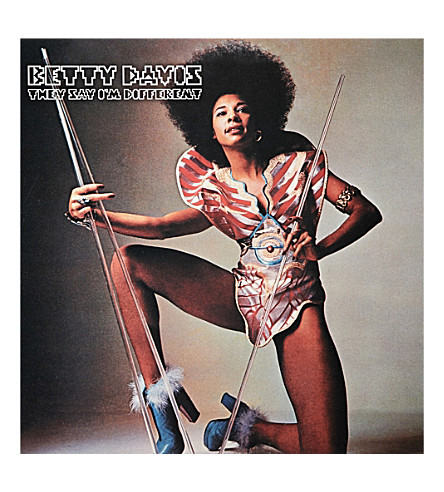 RYE WAX Betty Davis They Say I'm Different vinyl (Multi