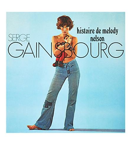 RYE WAX Serge Gainsbourg Histoire De Melody Nelson vinyl (Multi