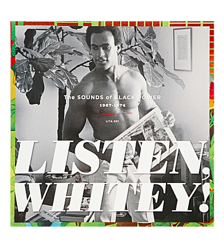 RYE WAX Listen, Whitey! The Sights and Sounds of Black Power 1965 – 1975 vinyl (Multi