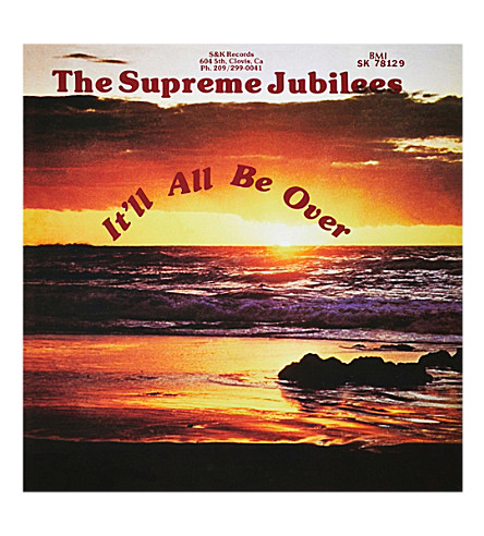 RYE WAX Supreme Jubilees It'll All Be Over vinyl (Multi