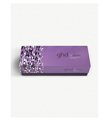 GHD IV purple styler