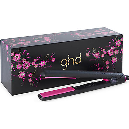 GHD Limited Edition Pink Cherry Blossom styler