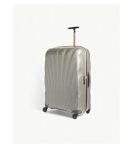 SAMSONITE Cosmolite four-wheel suitcase 81cm (Gold/silver