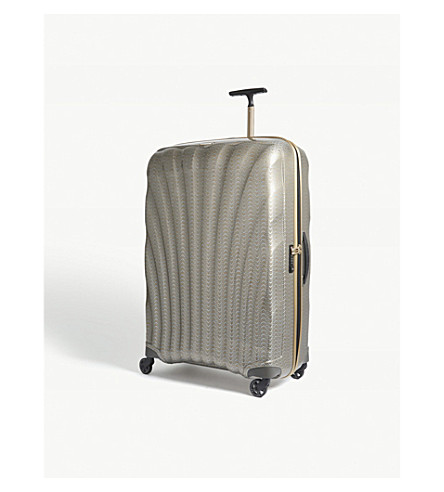 SAMSONITE Cosmolite four-wheel suitcase 86cm (Gold/silver