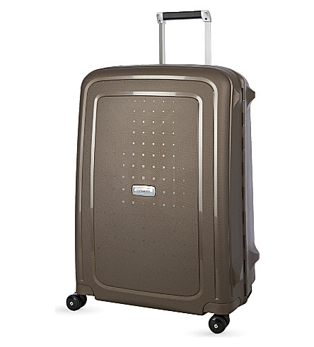 SAMSONITE S'Cure DLX Spinner 69 four-wheel suitcase (Bronze