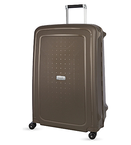 SAMSONITE S'cure DLX 75 Spinner four-wheel suitcase (Bronze