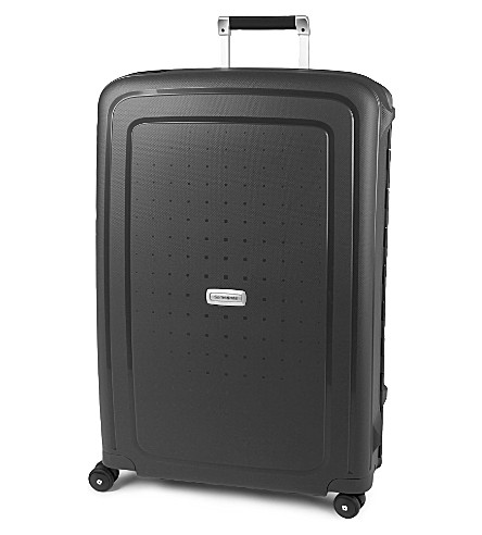 SAMSONITE Scure four-wheel spinner suitcase 75cm (Graphite