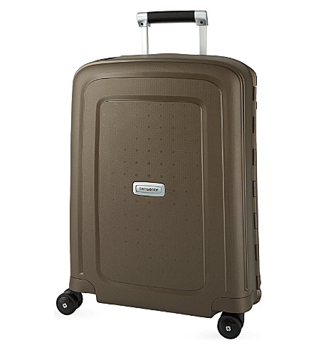 SAMSONITE S'Cure DLX four-wheel suitcase 55cm (Bronze