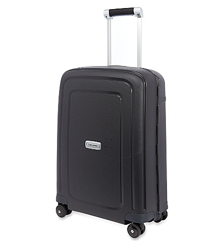 SAMSONITE S'Cure DLX four wheeled suitcase (Graphite