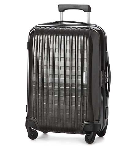 SAMSONITE Chronolite four-wheel cabin suitcase 55cm (Black