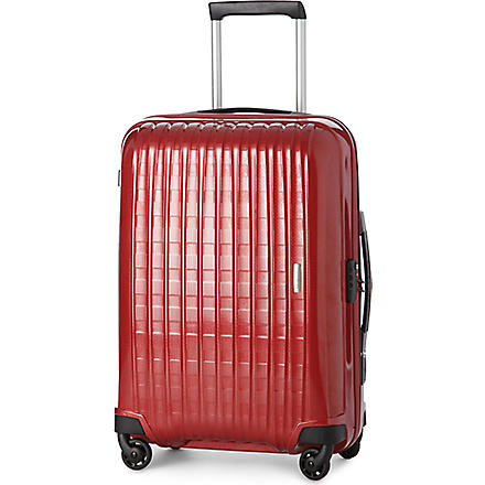 SAMSONITE Chronolite four-wheel suitcase 69cm (Red