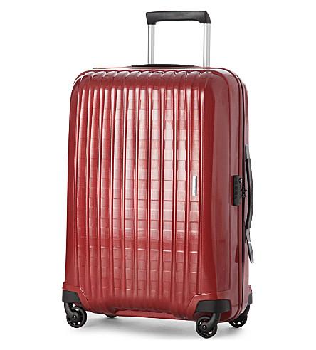SAMSONITE Chronolite four-wheel suitcase 75cm (Red