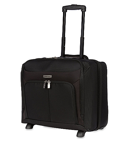SAMSONITE Ergo-Biz two-wheeled rolling tote (Black