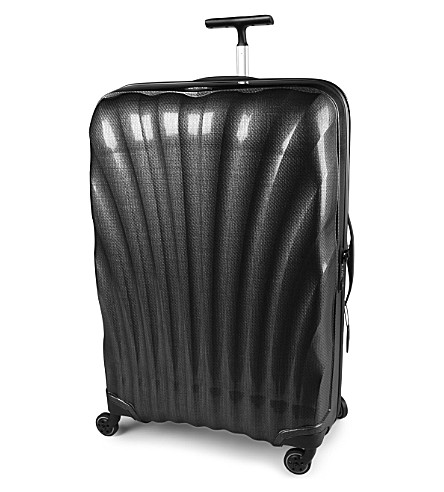 SAMSONITE Cosmolite four-wheel spinner suitcase 81cm (Black
