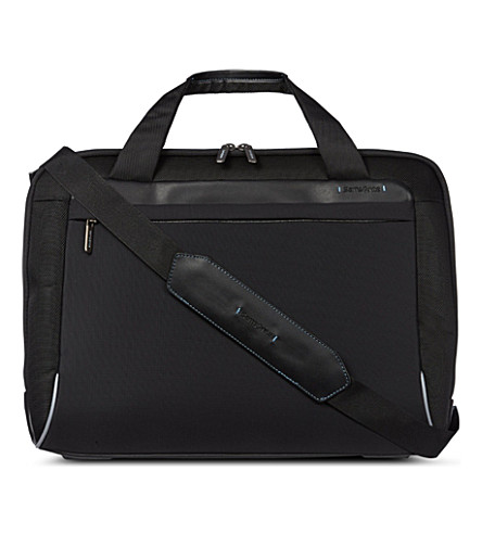 SAMSONITE Spectrolite Bailhandle laptop messenger bag (Black
