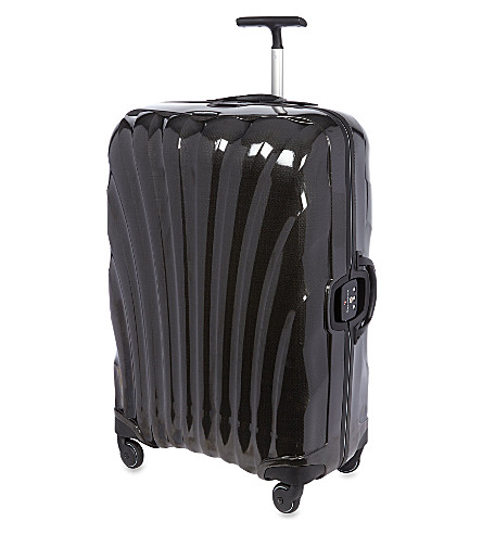 SAMSONITE Litelocked four-wheeled spinner suitcase 69cm (Black