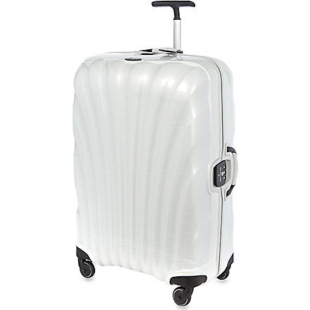 SAMSONITE Litelocked four wheeled spinner suitcase (Off-white