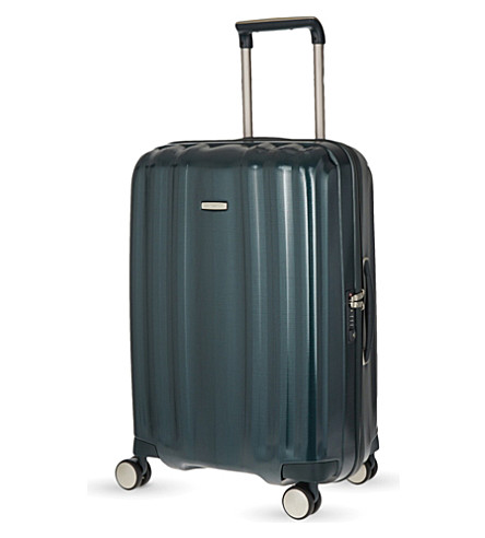 SAMSONITE Lite-cube four-wheel spinner suitcase 68cm (Dark+green
