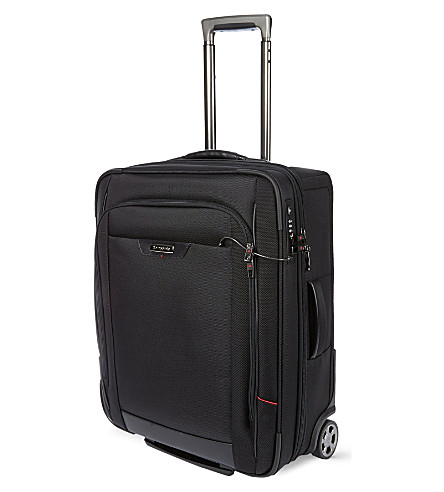 SAMSONITE Pro-DLX cabin four-wheel cabin suitcase (Black