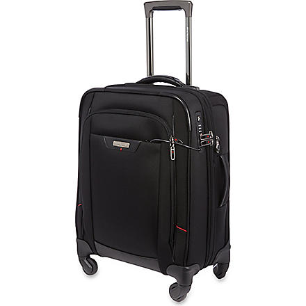 SAMSONITE Pro DLX four-wheel spinner cabin case 55cm (Black