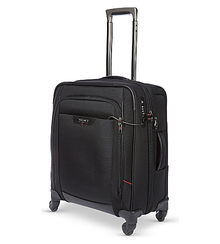 SAMSONITE Pro-DLX cabin four-wheel cabin suitcase 56cm (Black