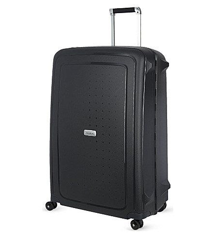 SAMSONITE S'cure DLX spinner 81 four-wheeled suitcase (Graphite