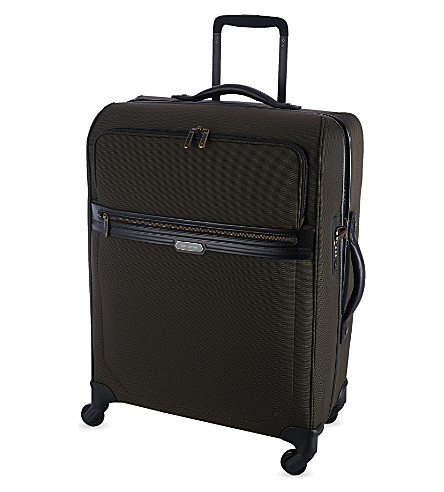 SAMSONITE Integra Spinner 78 four-wheeled suitcase (Espresso/black