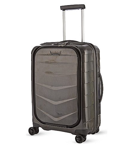 SAMSONITE Lite-Biz four-wheel cabin suitcase 55cm (Black