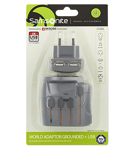 SAMSONITE World adaptor (Graphite