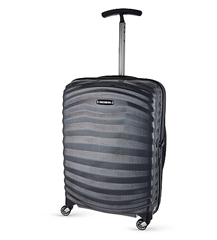 SAMSONITE Lite-Shock spinner 55 four-wheel cabin suitcase (Black