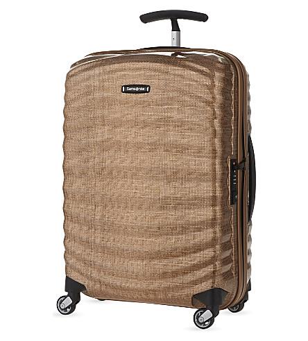 SAMSONITE Lite-Shock four-wheel cabin suitcase 55cm (Copper+gold