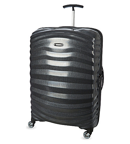 SAMSONITE Lite-shock four-wheel suitcase 75cm (Black