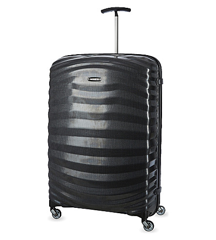SAMSONITE Lite-Shock four-wheel suitcase 81cm (Black