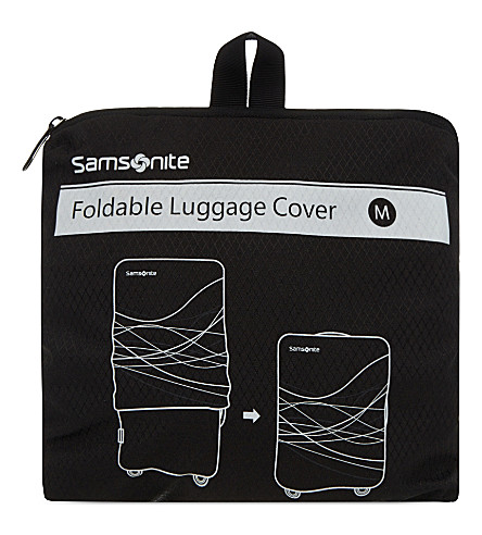 SAMSONITE Foldable luggage cover medium (Black