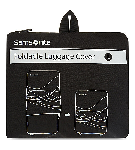 SAMSONITE Foldable luggage cover large (Black