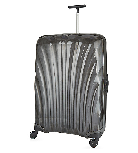 SAMSONITE Litelocked four-wheeled spinner suitcase 81cm (Black