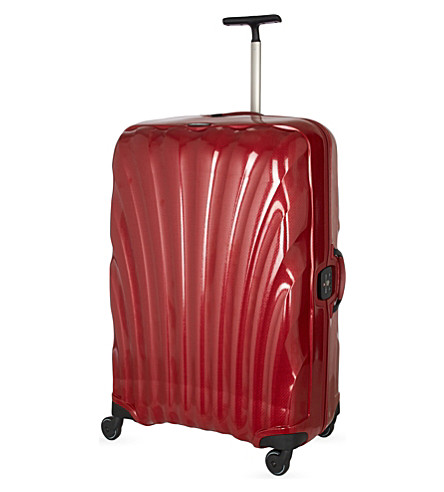 SAMSONITE Litelocked 81 spinner four-wheel suitcase trolley (Red