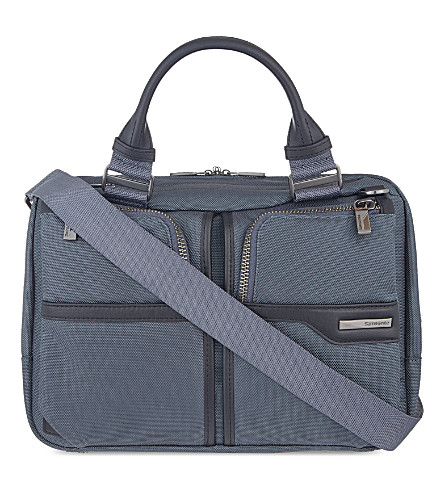 SAMSONITE GT Supreme bailhandle bag (Grey/black