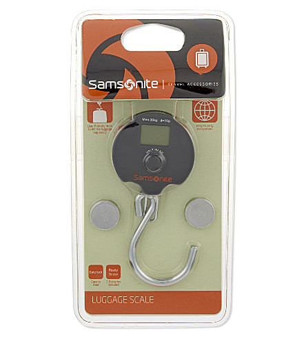 SAMSONITE Luggage scale (Graphite