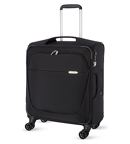 SAMSONITE Four-wheel spinner suitcase 56cm (Black