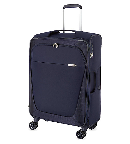 SAMSONITE Four-wheel spinner suitcase 71cm (Dark+blue