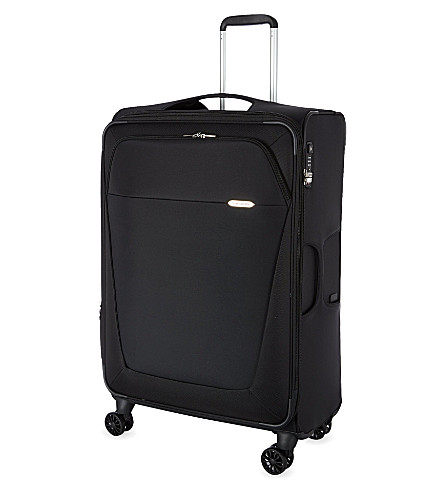 SAMSONITE Four-wheel spinner suitcase 78cm (Black
