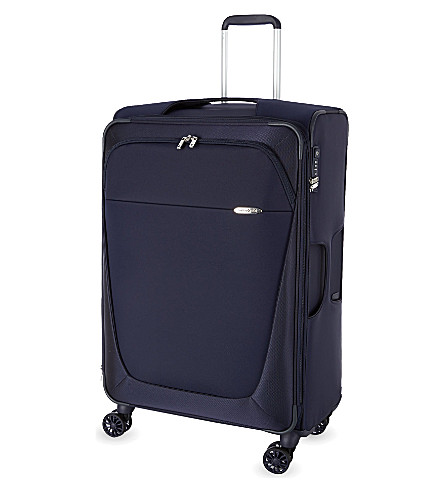 SAMSONITE Four-wheel spinner suitcase 78cm (Dark+blue