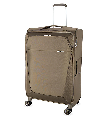 SAMSONITE Four-wheel spinner suitcase 78cm (Walnut