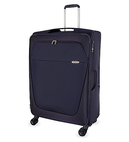 SAMSONITE B-Lite four-wheel spinner suitcase 83cm (Dark+blue