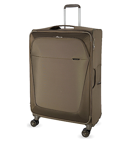 SAMSONITE Four-wheel spinner suitcase 83cm (Walnut