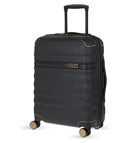 SAMSONITE Splendor four-wheel spinner suitcase 55cm (Black/black